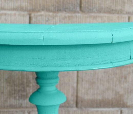 mudpaint furniture paint turquoise painted table