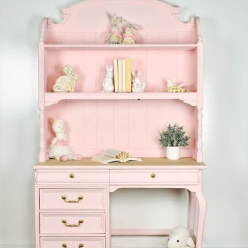 pink furniture paint color