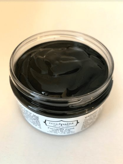 black furniture paint