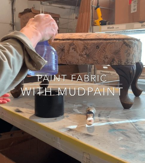 How to Paint Fabric with MudPaint – UPDATE 03/20