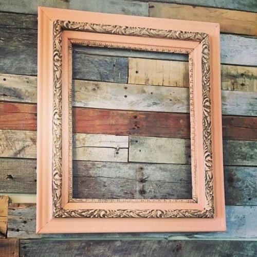 mudpaint furniture paint painted picture frame