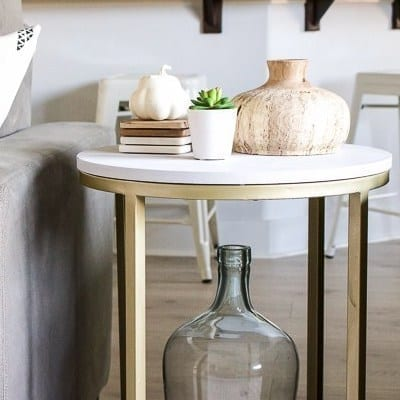 Makeover an Accent Table with MudPaint