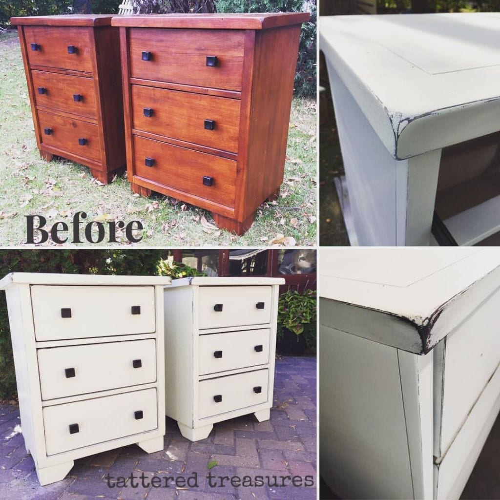mudpaint furniture paint painted nightstands