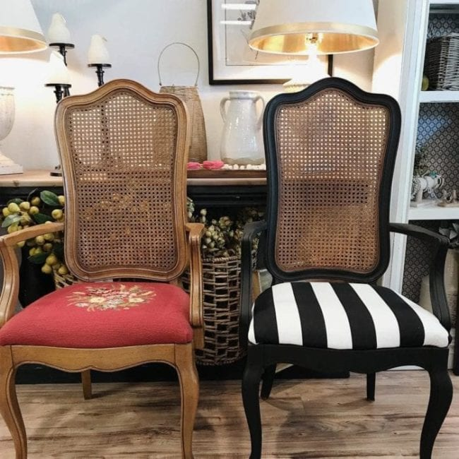 Makeover a Chair with MudPaint, Fall 2020 Update