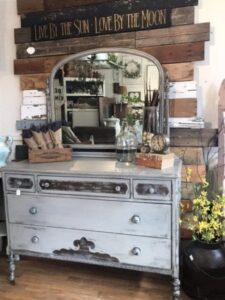 how to paint a dresser quickly