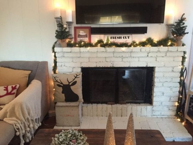 How to Paint a Fireplace with MudPaint Clay Paint