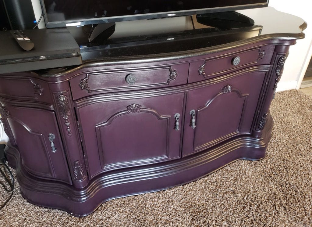 eggplant furniture paint