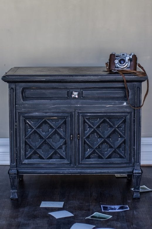 charcoal clay furniture paint