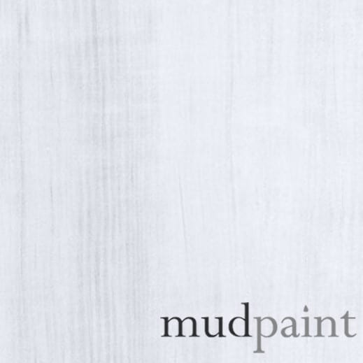 China White MudPaint furniture paint.