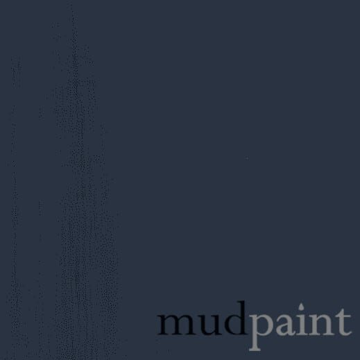 Deep Navy MudPaint furniture paint.