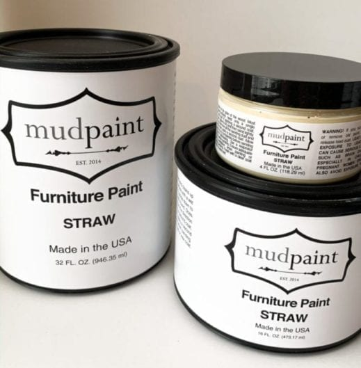 light yellow clay furniture paint from MudPaint