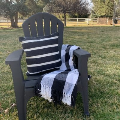 Painting Outdoor Furniture – Summer Edition