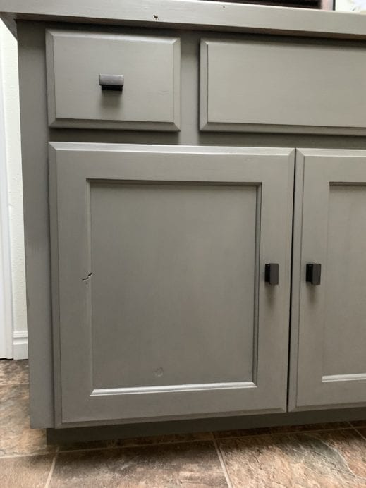 gray furniture paint