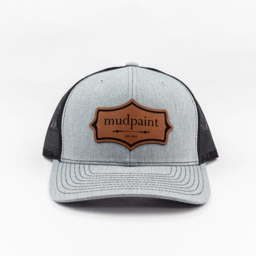 MudPaint trucker hat frontal view