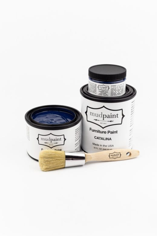 royal blue clay furniture paint