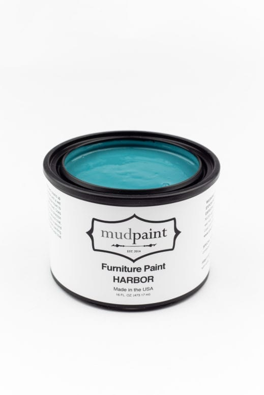 teal clay furniture paint by MudPaint