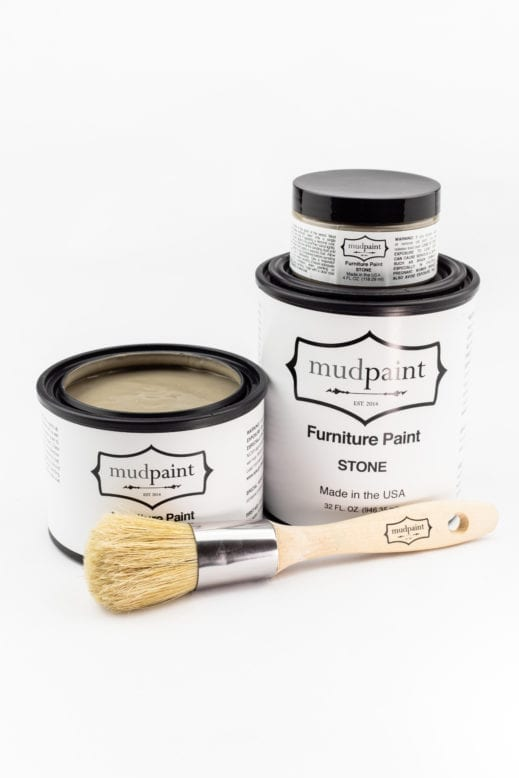 gray brown clay furniture paint by MudPaint