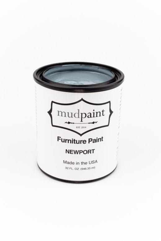 light blue gray clay furniture paint