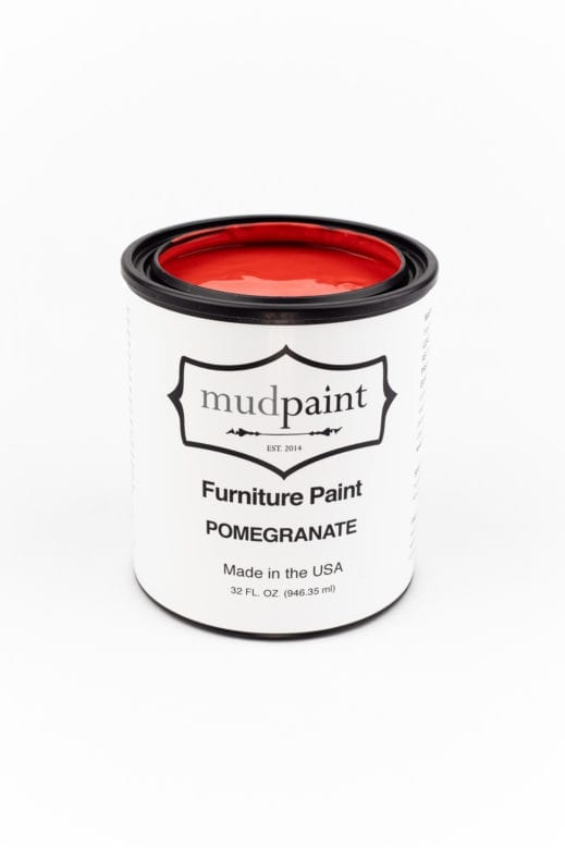 red clay furniture paint from MudPaint