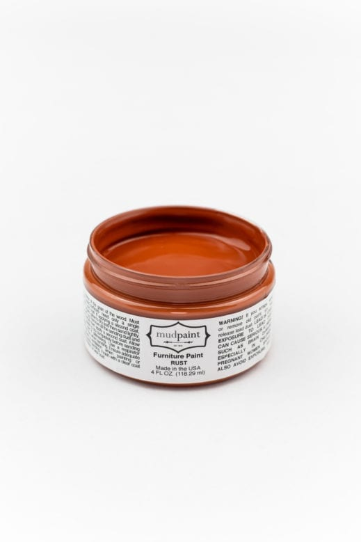 rust clay furniture paint by MudPaint