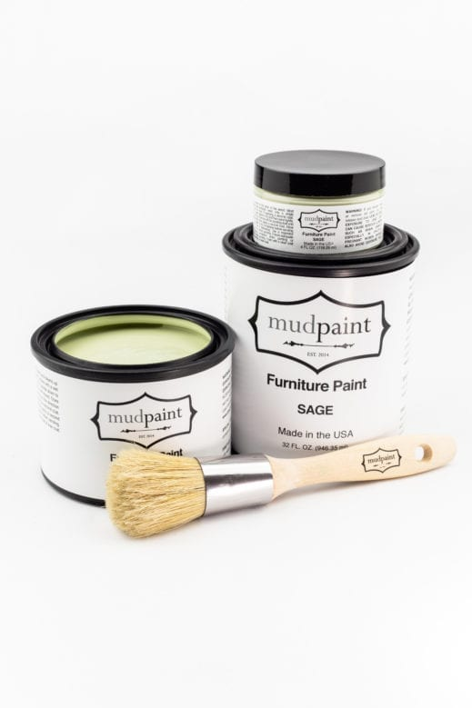 light green clay furniture paint by MudPaint
