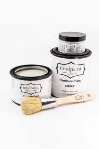 gray clay furniture paint by MudPaint